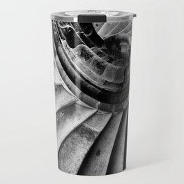 Sand stone spiral staircase Travel Mug