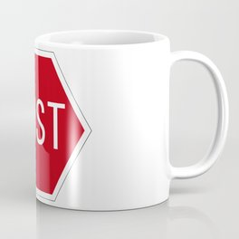 Post stop traffic sign Coffee Mug