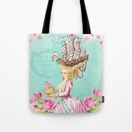 Marie Antoinette Liberté Tote Bag