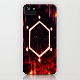 Excited Neurons iPhone Case