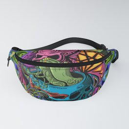 Polyhedral Manifester Fanny Pack