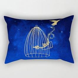 Let your heart fly Rectangular Pillow