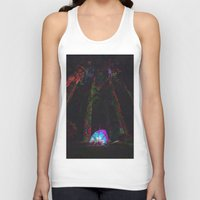 camp Tank Tops featuring Camp Site by Isaak_Rodriguez