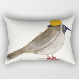 little brown creeper Rectangular Pillow