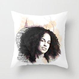 Alicia Throw Pillow