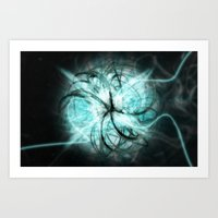 metal Art Prints featuring Metal by Danbot