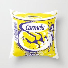 Salchichas Carmela Throw Pillow