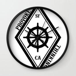 Provoke Thinking Logo Wall Clock