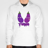 twins Hoodies featuring Twins by flydesign