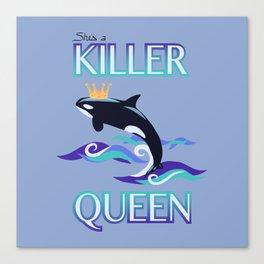She's a Killer Queen Canvas Print