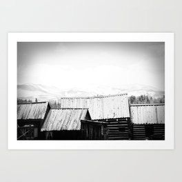 from the rooftops Art Print
