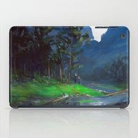 woods iPad Cases featuring Woods by Camila Vielmond
