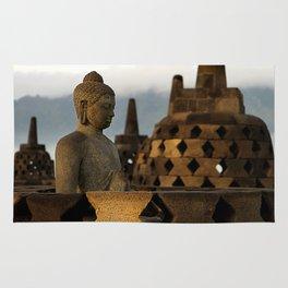 Buddha & Stupa Rug