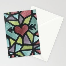 Stained Love Stationery Cards