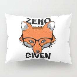 Zero Fox Given funny pun gift nerds Pillow Sham