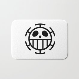 trafalgar law Bath Mat