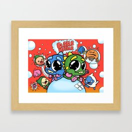 Remade: Bubble Bobble Framed Art Print