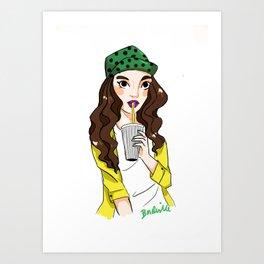 Thickshake Art Print