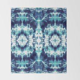 Celestial Nouveau Tie-Dye Throw Blanket