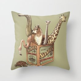 Noah's Ale Throw Pillow