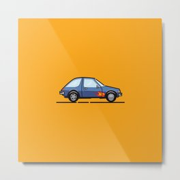 Garthmobile AMC Pacer from Wayne's World Metal Print