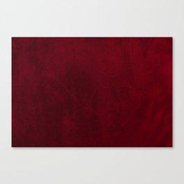 VELVET DESIGN - red, dark, burgundy Canvas Print