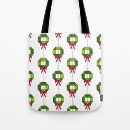 Wreaths Tote Bag