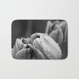 Tulips In Drops Bath Mat