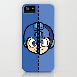 Old & New MegaMan iPhone Case