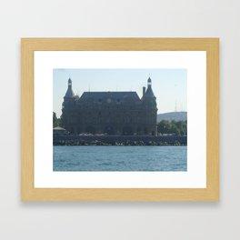 Haydarpasa Port Framed Art Print