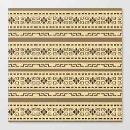 Big lebowski cardigan pattern Canvas Print