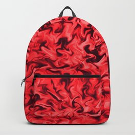 Fiery Red Backpack