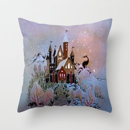 Magic Castle Throw Pillow
