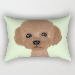 poodle hair cut Rectangular Pillow