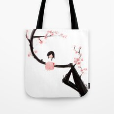 Gentle Blossom Tote Bag