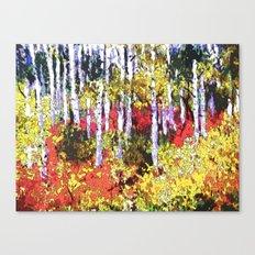 Title: Glorious Colors - digital Silk Screen Canvas Print