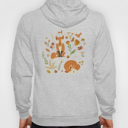 Foxes with Fall Foliage Hoody