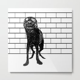 guard dog Metal Print