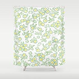 Blumenwiese Shower Curtain