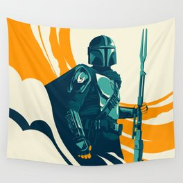 """Mando"" by Matt Kehler Wall Tapestry"