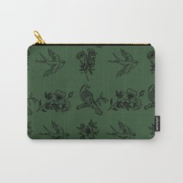 olive bird Carry-All Pouch