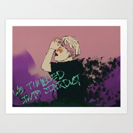 We Tumbled Into Stardust Art Print