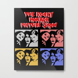 The Rocky Horror Picture Show Aesthetic Poster Metal Print