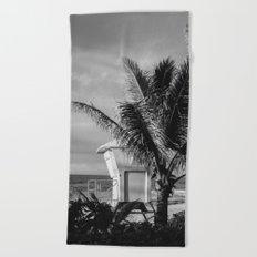 Hawaii Lifeguard Post II Beach Towel