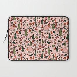 Hedgehog in Winter Print Laptop Sleeve