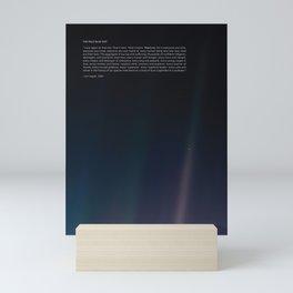 The Pale Blue Dot  Mini Art Print