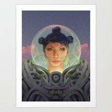 Those Who Came First Art Print