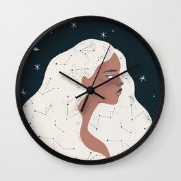 keeper of stars Wall Clock
