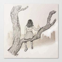 Climb Canvas Print