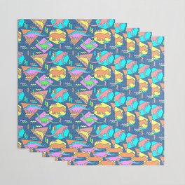 Nineties Dinosaur Pattern Wrapping Paper